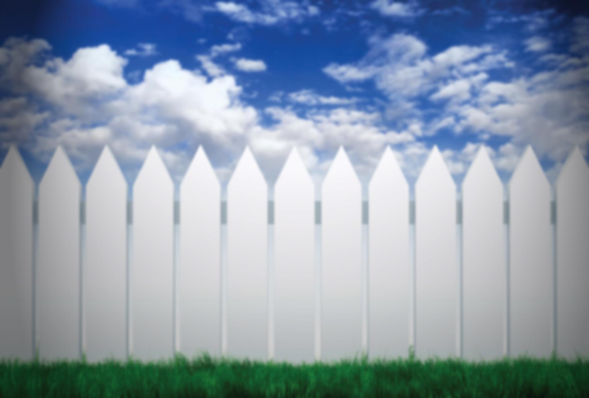 white-fence