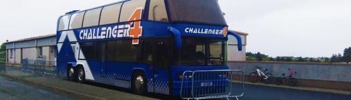 Challenger Bus Back to Back