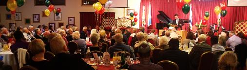 Pastors & leaders encouraged at Christmas Banquet