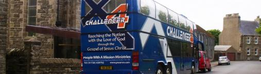 Challenger Bus in Wick