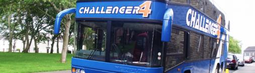 Challenger Bus in Caithness
