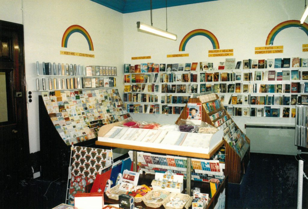 1988<br>Mustard Seed Coffee Shop& Book Shop Opened