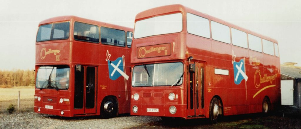 1991<br>First Challenger Bus Mission