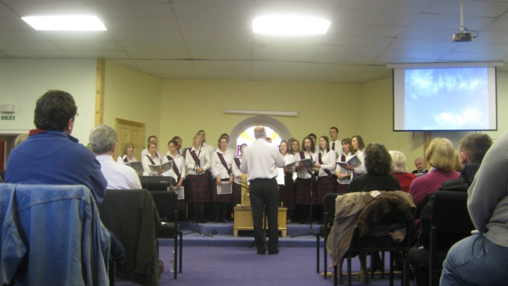 2002<br>Upper Room Singers Formed