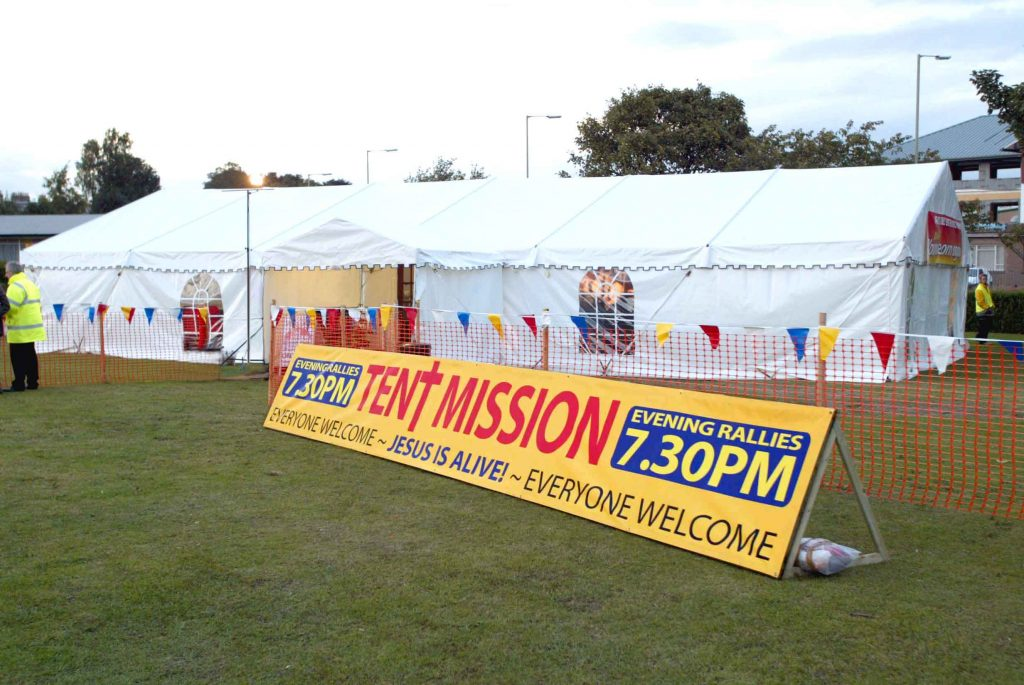 2003<br>First Tent Mission