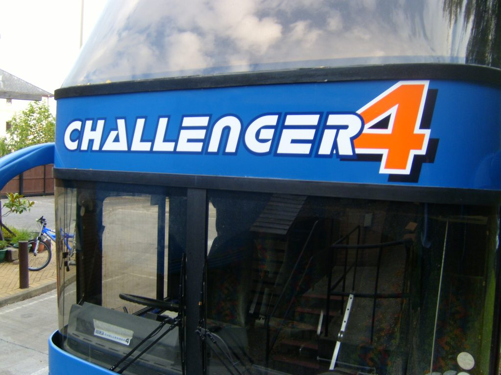 2012<br>Challenger 4 Launched