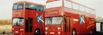 <b>1991:</b><br>First Challenger Bus Mission