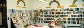 <b>1988:</b><br>Mustard Seed Coffee Shop & Book Shop Opens