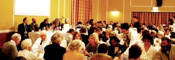 <b>2000:</b><br>Outreach Dinners start at Quality Hotel in Perth
