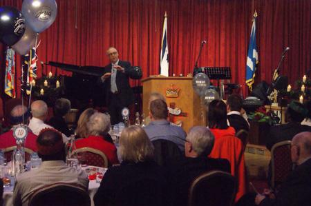 Michael Rollo Christmas Pastors Banquet