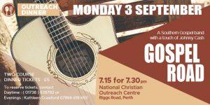 September Outreach Dinner: Gospel Road @ NCO Centre | Scotland | United Kingdom
