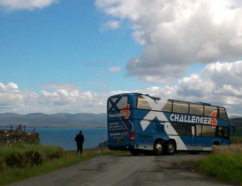 Challenger Bus on the Isle of Skye