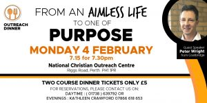 February Outreach Dinner @ National Christian Outreach Centre