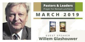 West Coast Pastors Luncheon: Willem Glashouwer