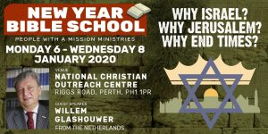 New Year Bible School 2020 (BOOK HERE) @ NCO Centre