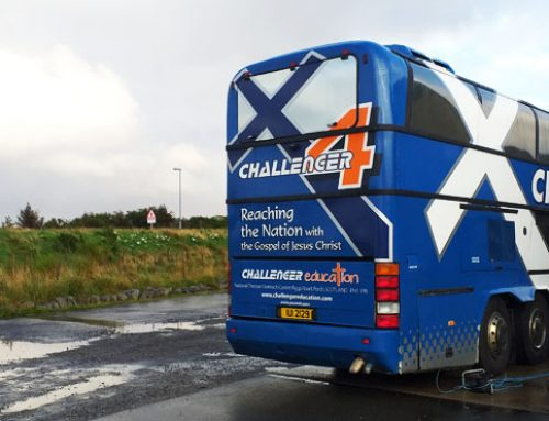 Challenger Bus back on the road