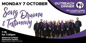 October Outreach Dinner @ NCO Centre