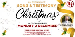 Christmas Outreach Dinner 2019
