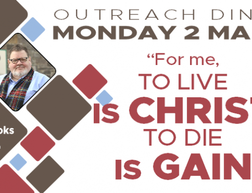 March Outreach Dinner: Jim Crooks